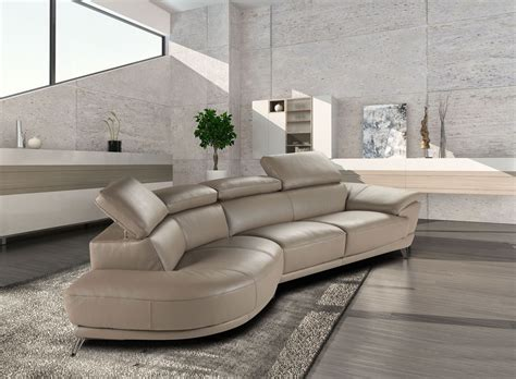 leather sofas ta marisol taupe italian laf chaise leather sectional from j