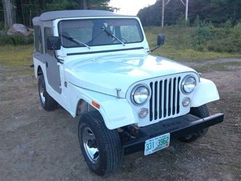 Jeep Corporation Contact Find Used 1981 Jeep Corporation Amc Cj7 Jeep 4x4 4 Cyl