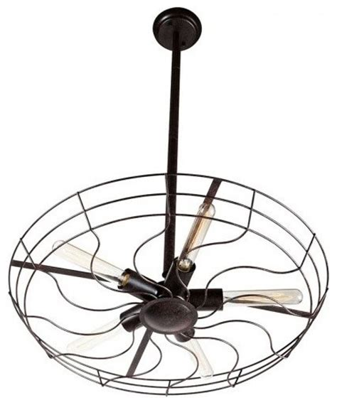 wrought iron dining room fan pendant lighting industrial