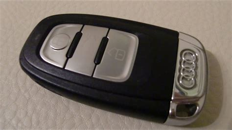 Audi Schl Ssel Batterie by Audi A4 Replace Battery Remote Radio Control Key Fob