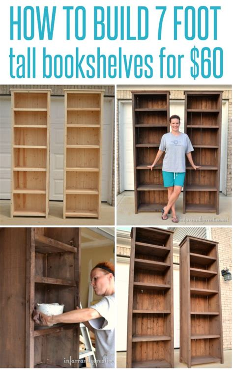 how to make bookshelves infarrantly creative
