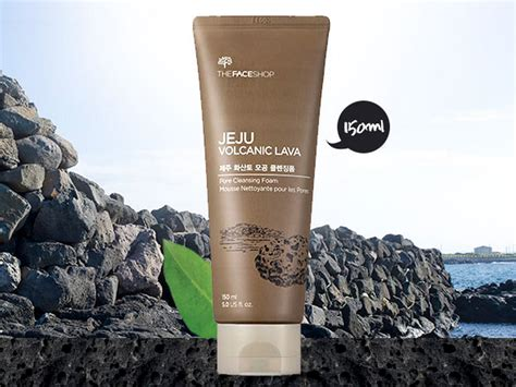 Harga Water Jeju Orange By The Shop the shop jeju volcanic lava pore cleansing foam