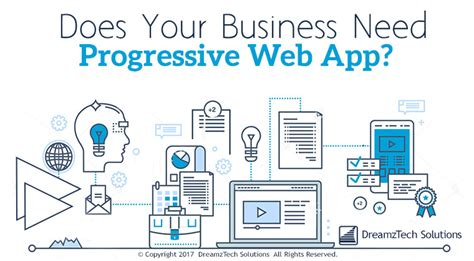 beginning progressive web app development creating a app experience on the web books business needs progressive web app dreamztech solutions