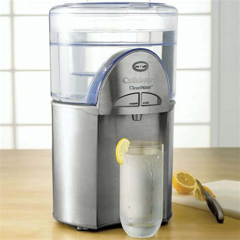 cuisinart cleanwater water filtration system the green