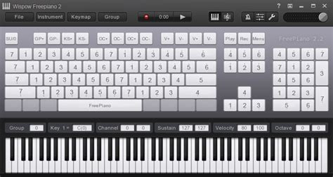 computer keyboard tutorial software freepiano