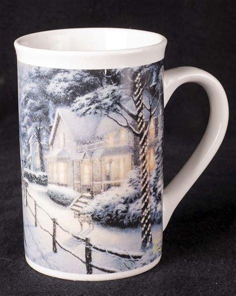 Le Chat Noir Boutique: Thomas Kinkade Hometown Christmas Memories Tall Coffee Mug, Misc. Coffee