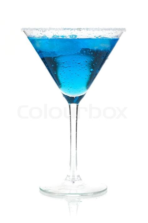 blue martini clip cocktail collection blue martini isolated on white