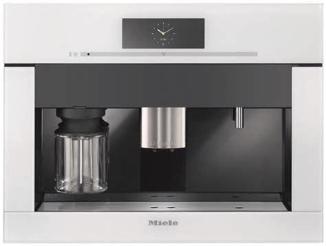 inbouw koffiemachine met vaste wateraansluiting cva6805bw miele koffiemachine de beste prijs