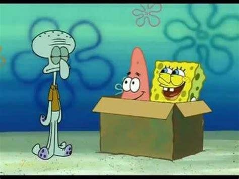 spongebob box idiot box setting sail