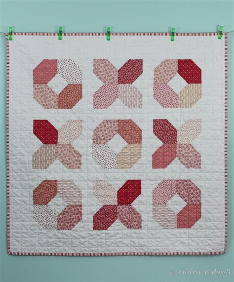 Hugs And Kisses Baby Quilt by Blue Is Bleu Hugs And Kisses Quilt
