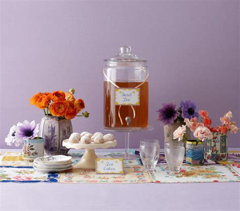real simple bridal shower ideas the d 233 cor charming ideas for a modern tea bridal shower real simple