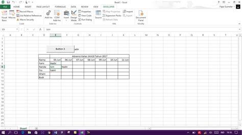 Membuat Tilan Form Di Excel | membuat tilan form di excel tutorial cara membuat macro di