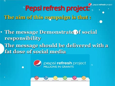 introduction of pepsi slideshare pepsi case study