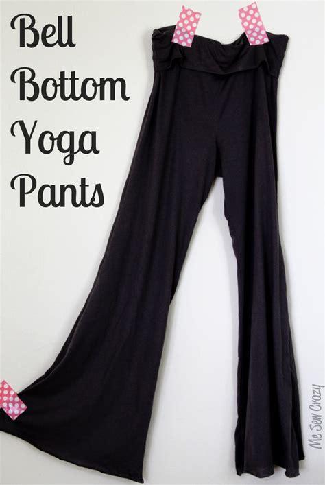 tutorial de yoga knit bell bottom yoga pants for me tutorial verano