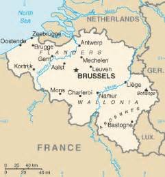 Map Of France And Belgium by Map Holland Belgium France
