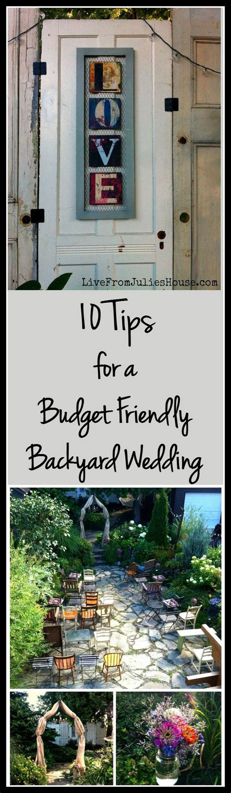 how to throw a backyard wedding how to throw a budget friendly backyard wedding cheap wedding tips welcome to