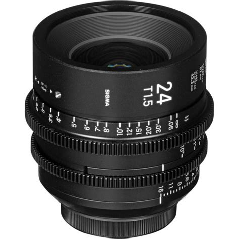 Sigma 24mm T1 5 Ff High Speed Prime Ef Mount sigma 24mm t1 5 ff high speed prime for canon sony