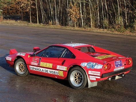 rally ferrari ferrari 308 gtb group b rally car coming to auction gtspirit