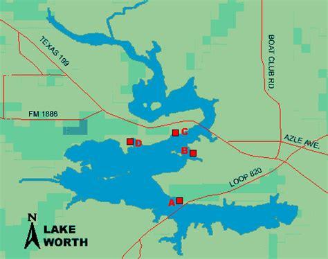 lake worth texas map lake worth access