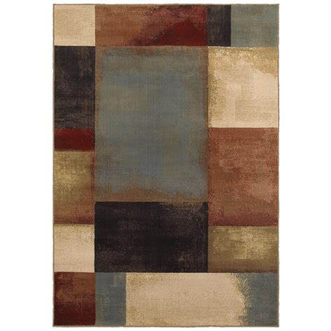 3 area rug home decorators collection hayley multi 5 ft 3 in x 7 ft 6 in area rug 479108 the home depot