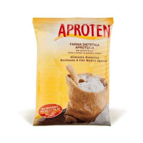 alimenti aproteici aproten farina aproteica