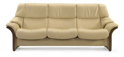 high back reclining sofa stressless eldorado 1215030 high back 3 seater reclining