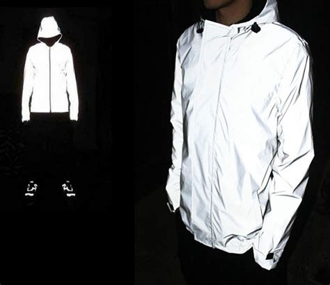 mens reflective cycling men waterproof 3m super light reflective jacket cycling