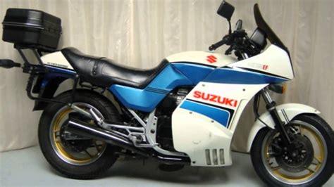 Suzuki Gsx Specs 1986 Suzuki Gsx 750 S Pics Specs And Information