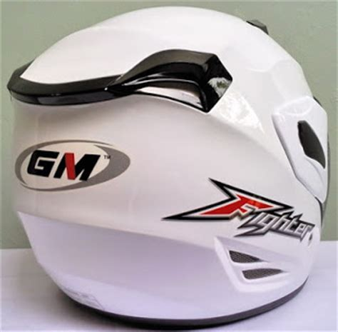 Helm Gm Jualjakethelm Helm Gm Fighter White Gn03