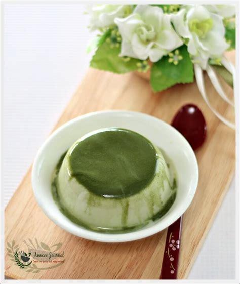 Silky Pudding Green Tea Matcha 320gr matcha milk pudding 抹茶布丁 anncoo journal