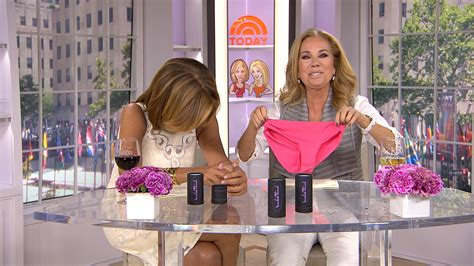 dylan dreyer lingerie klg hoda say goodbye to frontal wedgies with special