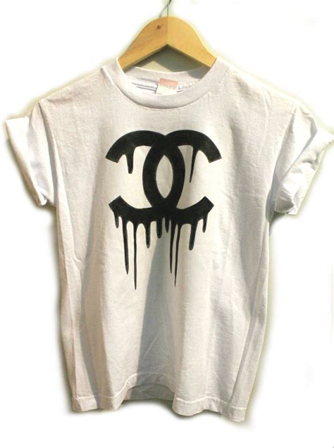 t shirt dusk rubies diy chanel inspired t shirt
