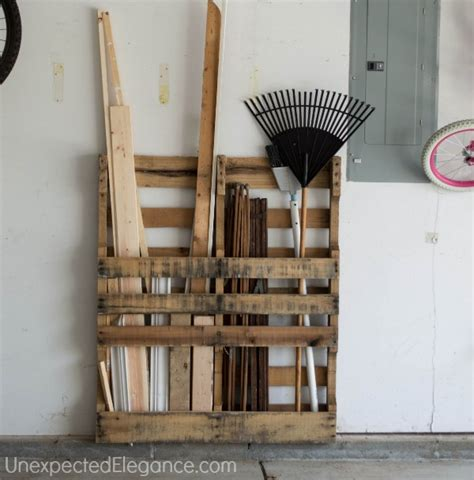 Garage Shelving From Pallets Free Garage Storage Just One More Thing Pallets Are
