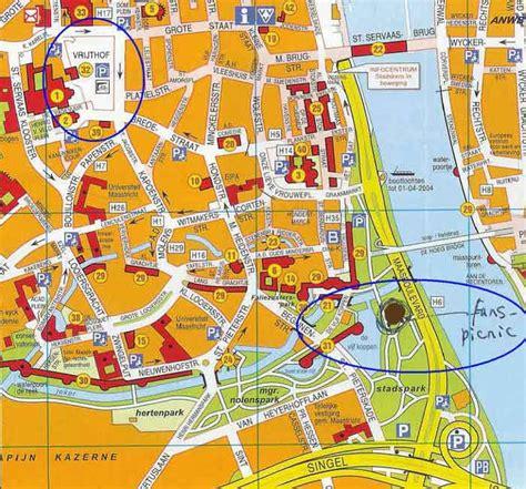 netherlands map maastricht andre rieu fan picnic in maastricht 2006