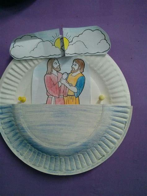 baptist crafts for 25 best jesus baptism craft ideas on