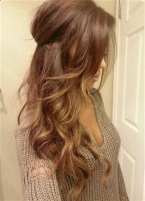 Light Brown Hair With Caramel Highlights by Light Brown Hair With Ombr 233 Highlights Hair