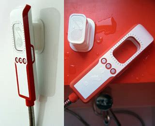 Shower Mp3 Player by Shower Mp3 Player Concept By Hae Lim Techgadgets