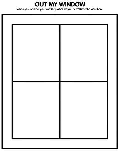 coloring page for window ultimate fun coloring and activity pages