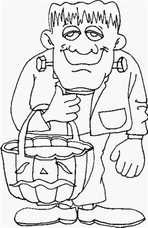 coloring pages of halloween monsters halloween monsters coloring pages bestofcoloring com