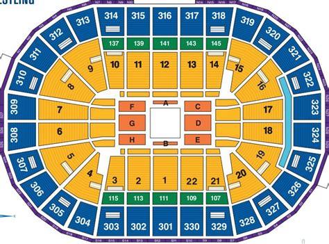 seating chart td garden
