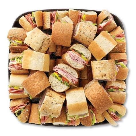 sandwich platter  pinterest meat platter cheese party platters  meat trays