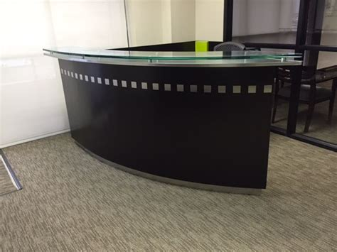 Used Office Reception Desk 17 Best Images About Reception Desks Front Desk Sales Counter Retail Counter Used