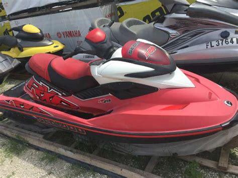 sea doo boats for sale in miami sea doo rxp 215 hp boats for sale in miami florida