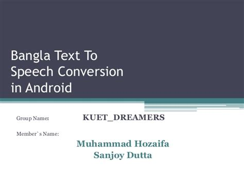 powerpoint tutorial bangla pdf bangla text to speech conversion in android
