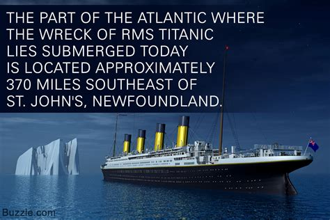 when did the titanic sink where exactly did the titanic sink we the answer