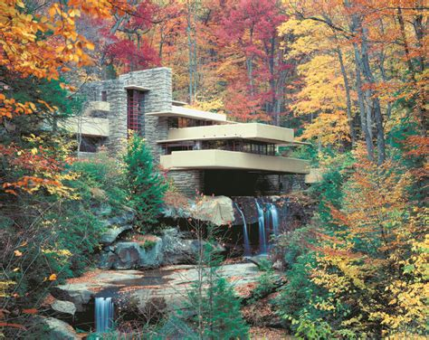 falling waters frank lloyd wright pictures