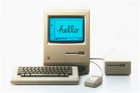 Laptop Apple Hello hello font early macintosh ad forum dafont