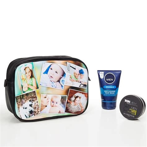Toiletry Bag Personalised Personalized Toiletry Bag With Your Photos Custom Dopp Kit