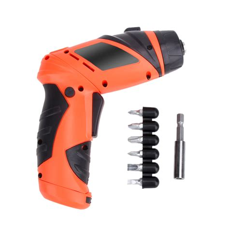 Portable Multi Function Wireless Lifier 6v portable screwdriver electric drill battery cordless