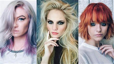nuevas tendencias en colorimetria v 205 deo tendencias en cortes de pelo y color peinados